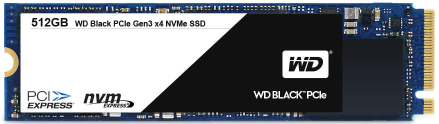 wd black 512gb pcie nvme ssd