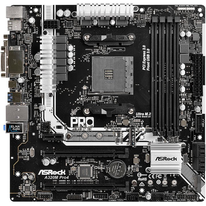 ASRock A320M mATX Motherboard review