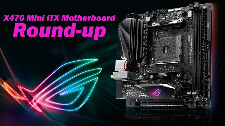 Best Mini ITX X470 Ryzen Motherboards featured